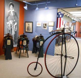 Eastern Trails museum Vinita Oklahoma Will Rogers