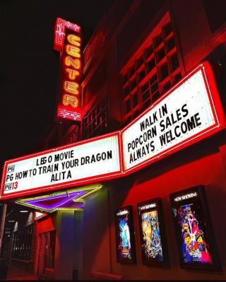 Vinita Oklahoma Center Theater first run movies