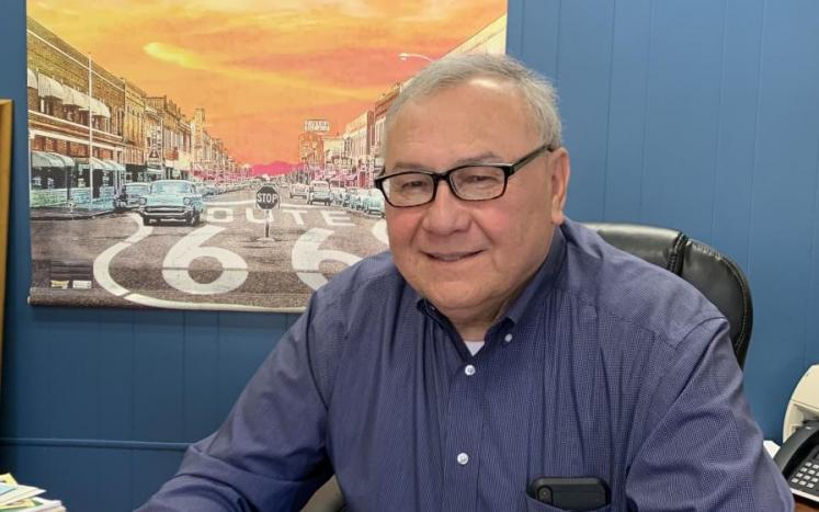 Vinita Mayor Chuck Hoskin